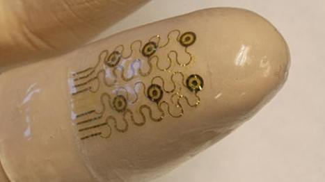 Printed electronics, sensors and actuators on a thin flexible finger cuff | Medical Engineering = MEDINEERING | Scoop.it