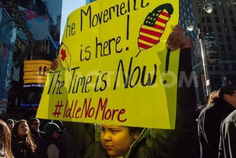 'Idle No More' Native American protests reach Times Square | American Indian | Scoop.it