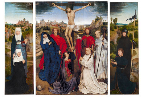 Hans Memling's Triptych of Jan Crabbe reunited in exhibition at The Morgan | News in Conservation | Scoop.it