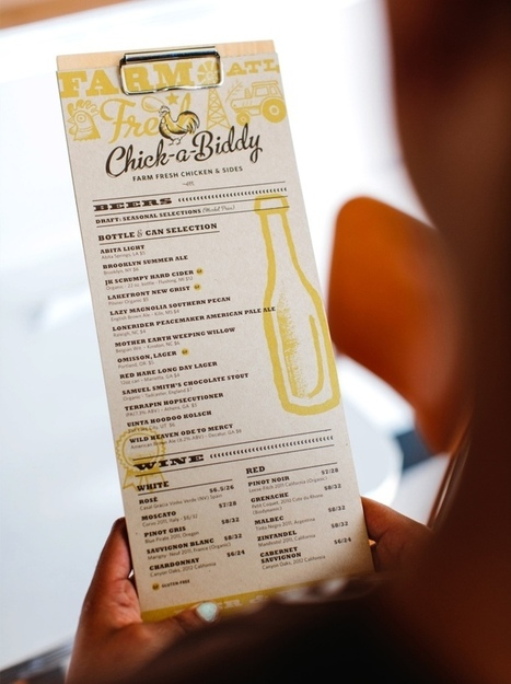 Chick-a-Biddy Farm Fresh Chicken & Sides branding by Tad Carpenter Creative »  Retail Design Blog | ScoopITpersoSN | Scoop.it