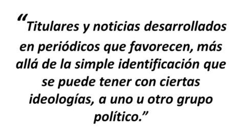 Editorial: Desinformación, alineaciones políticas y medios de comunicación   Medios de comunicación y política   Scoop.it