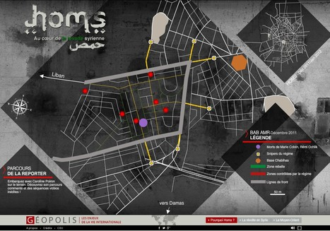 Homs au coeur de la révolte syrienne | FranceTV.fr | L'actualité du webdocumentaire | Scoop.it