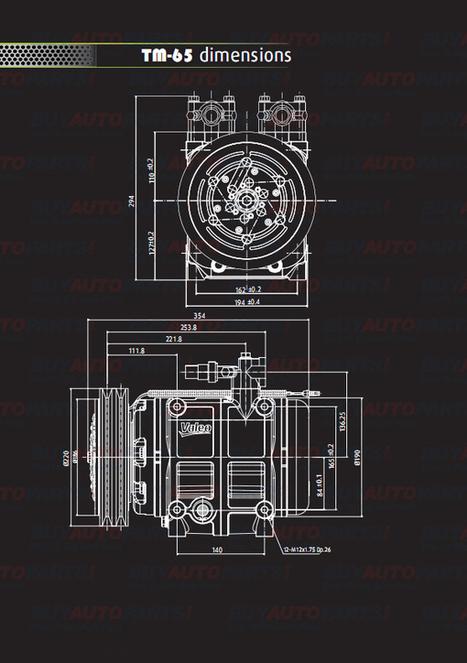 What are Valeo AC compressor dimensions | Mercedes Benz 450SEL Parts | Scoop.it