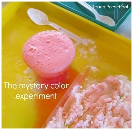 The mystery color experiment   Teach Preschool   Teach Preschool   Scoop.it