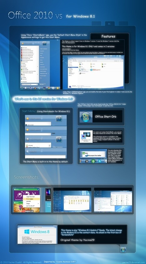 25 Best Windows 8.1 Themes - Free Download | Around the Web | Scoop.it
