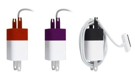 The Wrap cable winder for apple iphone charger US | designdrool | Scoop.it