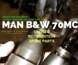 MAN B&W 70MC Spare Parts for Maintenance | Marine Engines Motors and generators | Scoop.it
