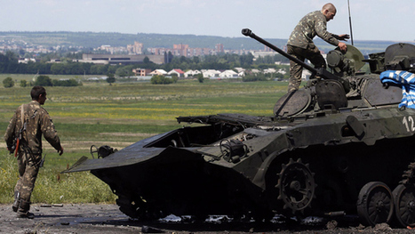 Ukraine crisis: Donetsk rebels in mass withdrawal | It Comes Undone-Think About It | Scoop.it
