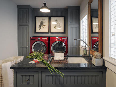Stylish Laundry Rooms From HGTV Dream Home, Green Home and Urban Oasis | Ingrid's values, interests and ambitions within ohs | Scoop.it