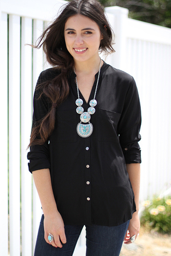 basic button down top | Online shopping store | Scoop.it