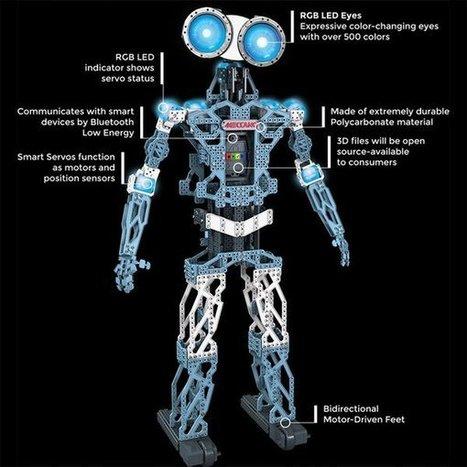 Meccanoid : quand Meccano rime avec robot   Vous avez dit Innovation ?   Scoop.it