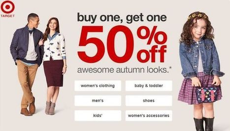 Buy one get one at 50% off   Target news   Scoop.it