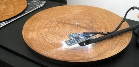 anneaux d'arbre sur un tourne-disque | Bureau de curiosités | Scoop.it