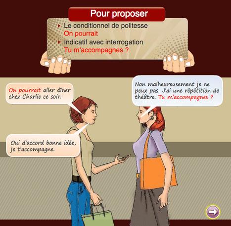 Suggérer, proposer : Parlons français, c'est facile ! | Remue-méninges FLE | Scoop.it