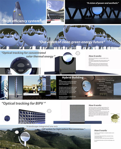 spherical glass solar energy generator by rawlemon | curating your interests | Scoop.it