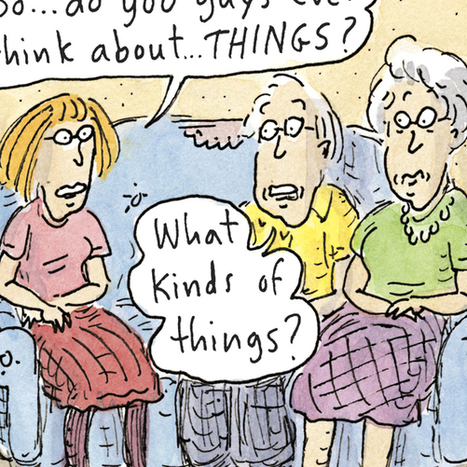 "Roz Chast: ""Can't We Talk About Something More Pleasant?"" 