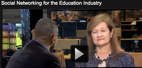 Social Networking for the Education Industry: Video (Bloomberg TV) | The  New  Media  Transformation | Scoop.it