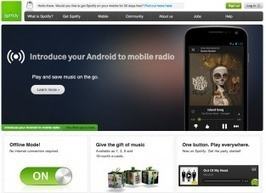 Why Would Spotify Launch a Web Version? Here Are Five Reasons | MUSIC:ENTER | Scoop.it