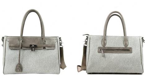 Rectangle Design Cowhide Fashional Handbag Elegant & Luxury White Color Distinctive Visual   women fashion accessories   Scoop.it