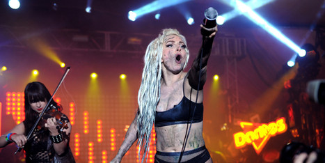 That Time Lady Gaga Was Puked On At SXSW | Xposed | Scoop.it
