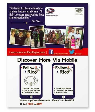 US politician uses NFC campaign to attract younger voters | NFC solutions | Scoop.it
