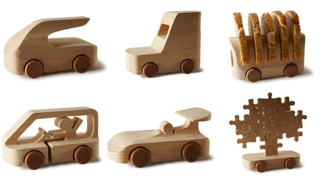 100 Fantastic Toy Cars Made By Fun-Loving Modern Designers | Art, Design & Technology | Scoop.it