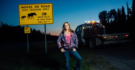 Laurie the Moose Lady Puts 'Heart and Soul' Into Roadkill | enjoy yourself | Scoop.it