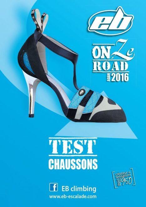 Kit de communication, et affiches du EB on ze road 2016 | Escalade | Scoop.it