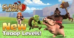 New Hog Rider, Goblin and Valkyrie Levels | Clash of Clans Tips | Scoop.it