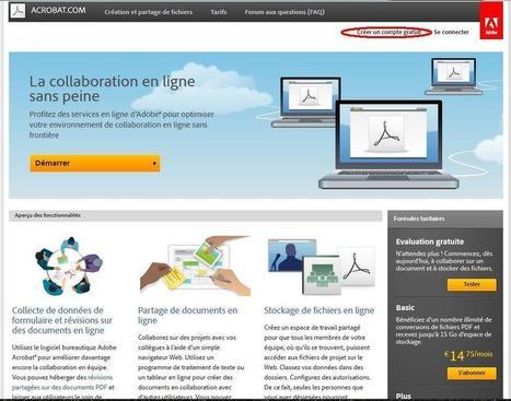 Dépanner un ordinateur à distance grâce au service en ligne acrobat.com | Collaboration en ligne et communication interne | Scoop.it