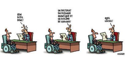Le nombre de demandeurs d'emploi handicapés bat des records | Handicap Infos | Le handicap face au travail | Scoop.it