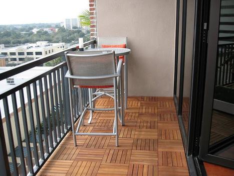 interlocking wood deck tiles | Backyard Gardening | Scoop.it