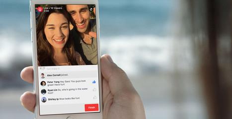 Facebook lance la diffusion des lives en duo - Influenth [prepa #rr20live] | Big Media (En & Fr) | Scoop.it