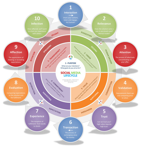 The Social Media Lifecycle | Health promotion. Social marketing | Scoop.it