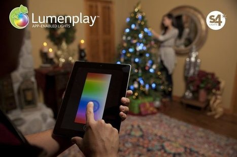 Apple Stores now sell these iPhone app-enabled Christmas lights in time for the holidays | 9 to 5 Mac | iPad and iPhone Gifts, Gift Guides and Ideas | Scoop.it