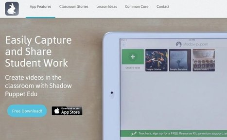 Wow!  Shadow Puppet Is A Great iPhone & iPad App For English Language Learners | Web 2.0 Tools in the EFL Classroom | Scoop.it