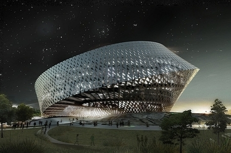 Eco Architecture: BIG Architects tente une bibliothèque durable au Kazakhstan | Ecofriend | Trucs de bibliothécaires | Scoop.it
