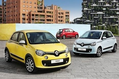 2015 Renault Twingo Comes with Rear-Rngine - Autospress.com | otomotive news | Scoop.it