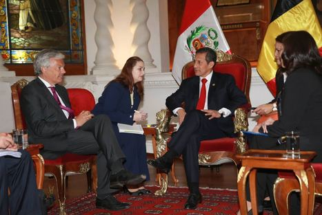 Peru President meets with Belgian Foreign Affairs Minister Didier Reynders | Communication in  the digital era | Scoop.it