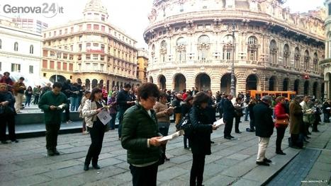 Sentinelle in Piedi: ieri sera 500 persone alla veglia silenziosa di piazza De Ferrari | Gay Italia | Scoop.it
