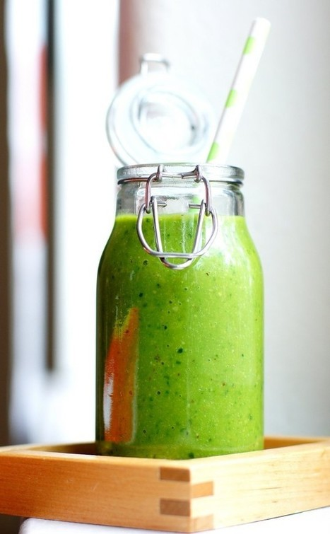 Life Changing Green Smoothie Recipe - kobi's kitchen | Green Smoothies | Scoop.it
