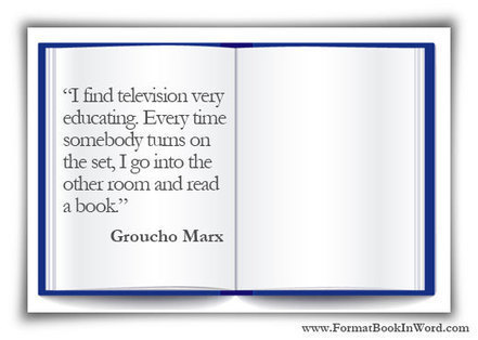Book Formatting Basics | Digital Publishing With The Every Day Book Marketer | Scoop.it