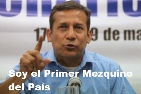 """Mezquindad Humalista: """"Yo convoque la portátil""""   RenovaciónPolitica   Scoop.it"""