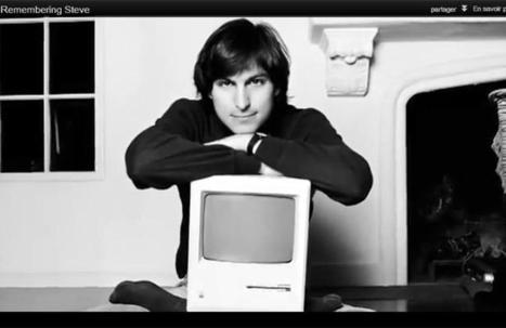 Apple rend hommage à Steve Jobs, décédé il y a un an | Apple World | Scoop.it