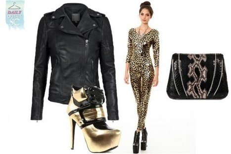 Daily Outfit: Go For Gold | StyleCard Fashion Portal | StyleCard Fashion | Scoop.it