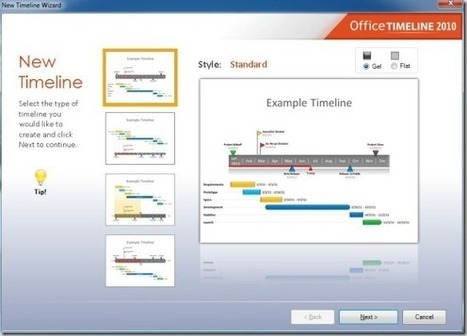 Create PowerPoint Timelines In Just 2 Minutes With Office Timeline | Moodle and Web 2.0 | Scoop.it