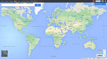 "Google Maps a un Plans d'avance | ""green business"" 