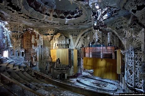 Interview de Romain Meffre et Yves Marchand, les Ruines de Detroit - Actuphoto.com   Detroit   Scoop.it