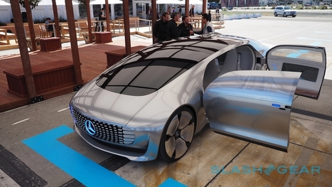 Up close with F 015, Mercedes' incredible self-driving car - SlashGear | Digital Fabrication | Scoop.it
