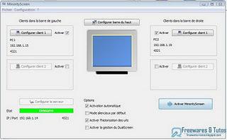 MinorityScreen : un logiciel réseau  pour envoyer des données entre des ordinateurs par simple glisser-déposer | Le Top des Applications Web et Logiciels Gratuits | Scoop.it